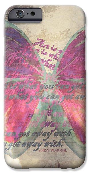 Art is ..... iPhone Case by Yvon van der Wijk