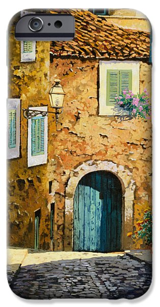 Street Paintings iPhone Cases - Arta-Mallorca iPhone Case by Guido Borelli