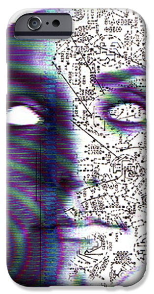 Artificial Intelligence iPhone Case by Neal Grundy