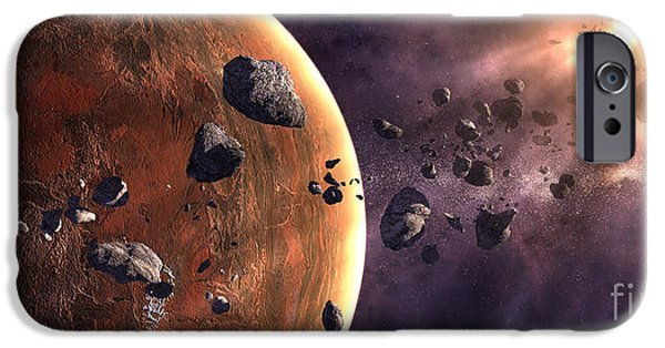 Destiny iPhone Cases - Artists Concept Of A Supernova iPhone Case by Frieso Hoevelkamp