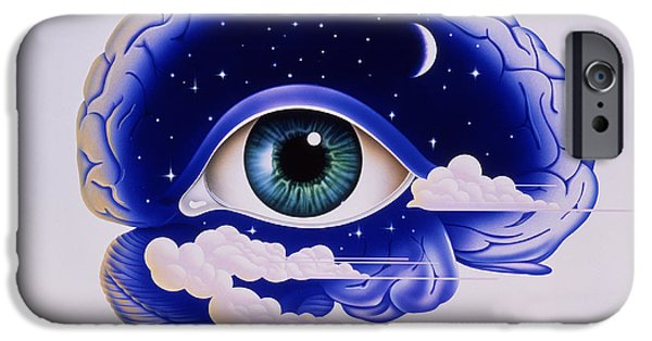 Disorder iPhone Cases - Artwork Of Insomnia iPhone Case by John Bavosi