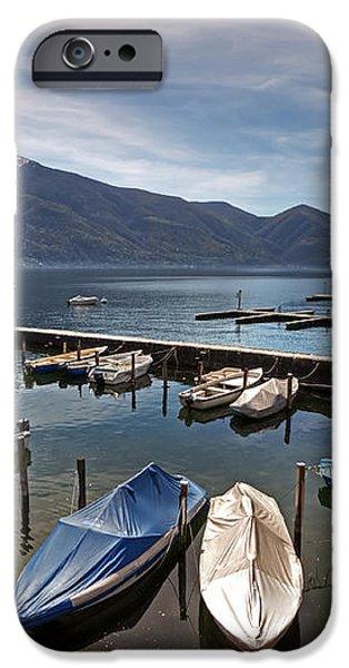 Ascona - Ticino iPhone Case by Joana Kruse