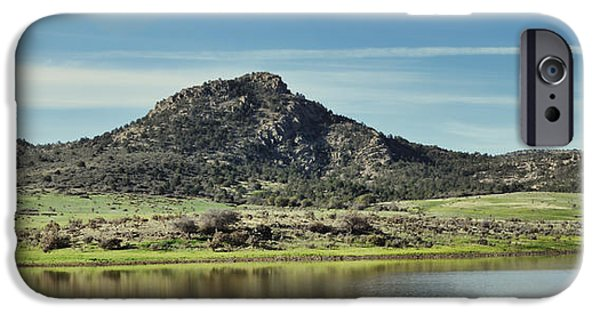 Mounds iPhone Cases - Ash Creek Valley iPhone Case by Donna Van Vlack