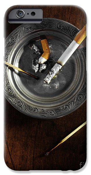 Ashtray iPhone Case by Carlos Caetano