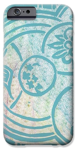 Asian Inspirations iPhone Case by Angela Conley