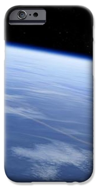 Asteroid Approaching Earth, Artwork iPhone Case by Detlev Van Ravenswaay
