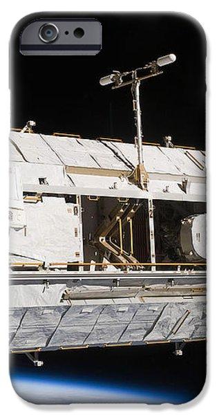 Astronauts Continue Maintenance iPhone Case by Stocktrek Images
