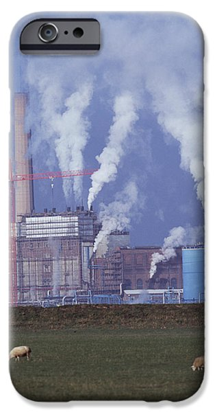 Pollutant iPhone Cases - Atmospheric Pollution iPhone Case by Andy Harmer