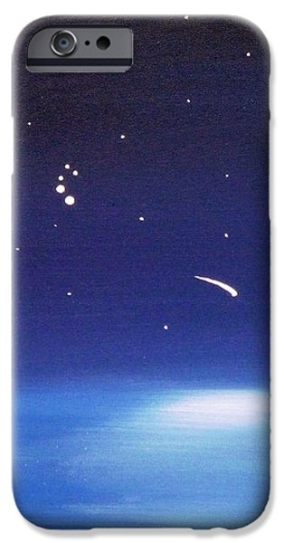 August Celestial Trinity iPhone Case by Alys Caviness-Gober
