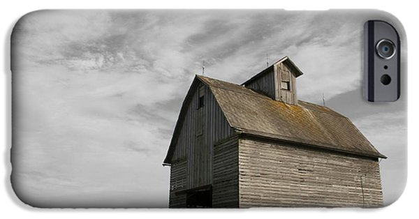 Old Barns iPhone Cases - Austerity iPhone Case by Dylan Punke