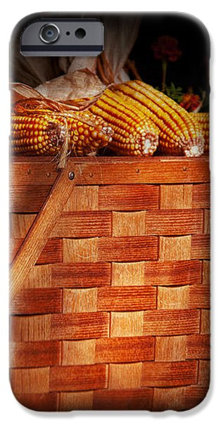 Autumn - Gourd - Fresh corn iPhone Case by Mike Savad