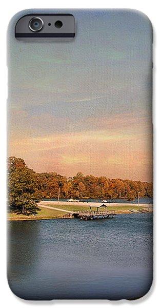 Autumn at Lake Graham 2 iPhone Case by Jai Johnson