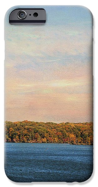 Autumn at Lake Graham iPhone Case by Jai Johnson