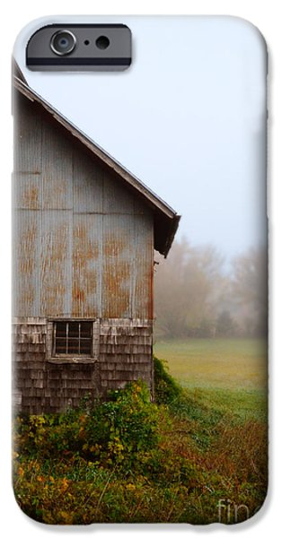 Autumn Barn iPhone Case by Jill Battaglia