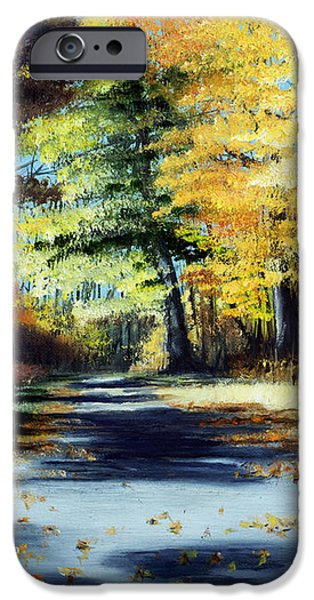 AUTUMN COLORS iPhone Case by PAUL WALSH