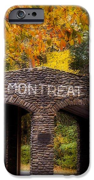 Autumn Gate iPhone Case by Joye Ardyn Durham