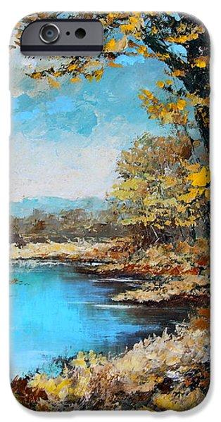 Autumn Gold iPhone Case by Karon Melillo DeVega