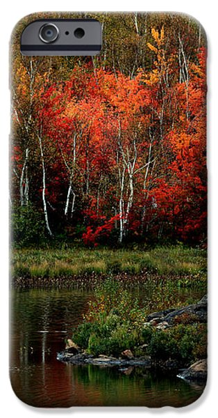 Autumn in Canada 2 iPhone Case by Marjorie Imbeau