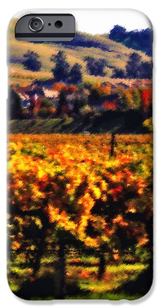 Autumn in the Valley 2 - Digital Painting iPhone Case by Carol Groenen