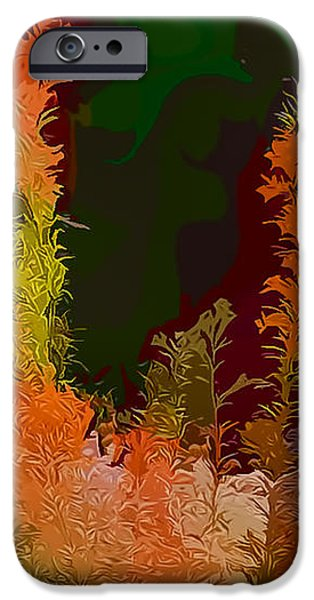 Autumn Pastel iPhone Case by Tom Prendergast