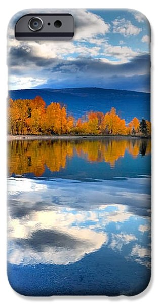 Autumn Reflections in October iPhone Case by Tara Turner