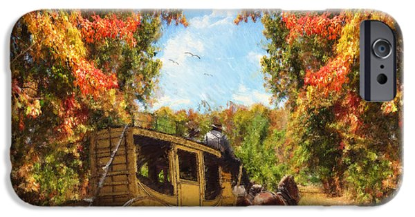 Autumn iPhone Cases - Autumns Essence iPhone Case by Lourry Legarde