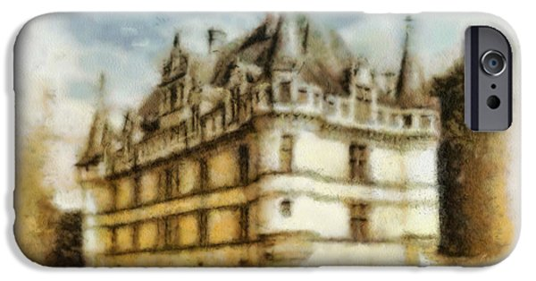 River iPhone Cases - Azay le Rideau iPhone Case by Mo T
