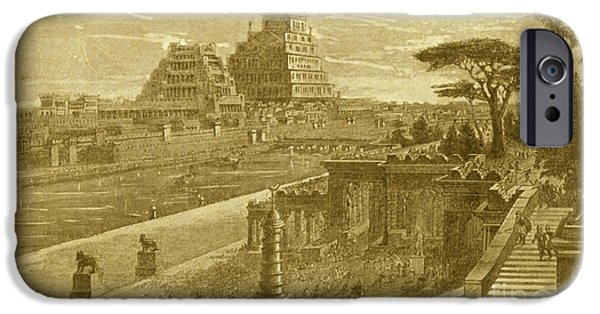 Babylon iPhone Cases - Babylon iPhone Case by Photo Researchers