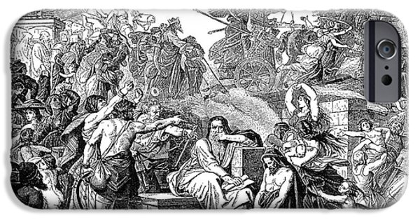 Babylon iPhone Cases - Babylonian Captivity iPhone Case by Granger