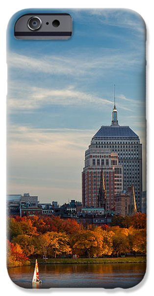 Back Bay Sail iPhone Case by Susan Cole Kelly