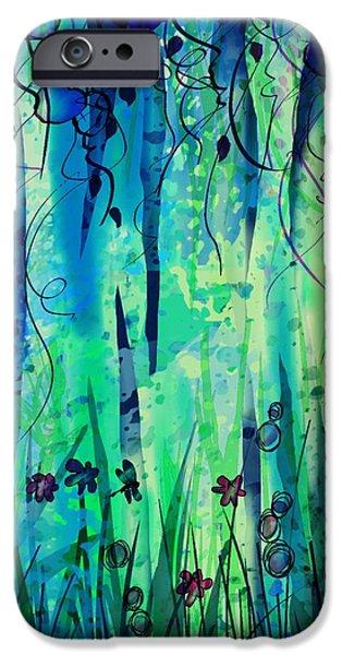 Backyard Dreamer iPhone Case by Rachel Christine Nowicki