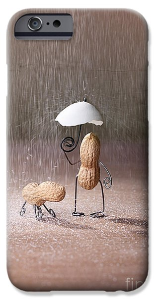 Bad Weather 02 iPhone Case by Nailia Schwarz