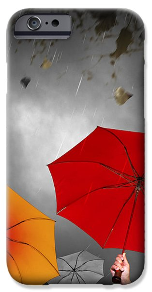Bad Weather iPhone Case by Carlos Caetano