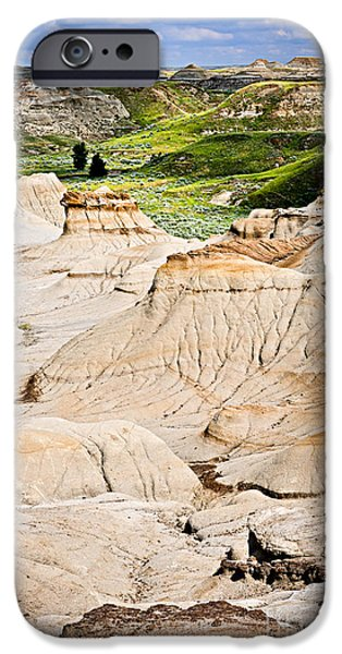 Badlands in Alberta iPhone Case by Elena Elisseeva
