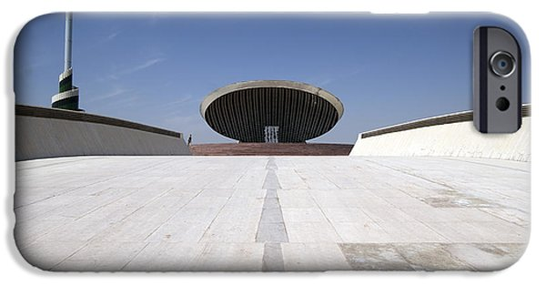 Baghdad iPhone Cases - Baghdad, Iraq - The Ramp That Leads iPhone Case by Terry Moore