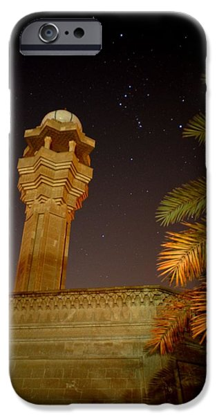 Baghdad iPhone Cases - Baghdad Night Sky iPhone Case by Rick Frost