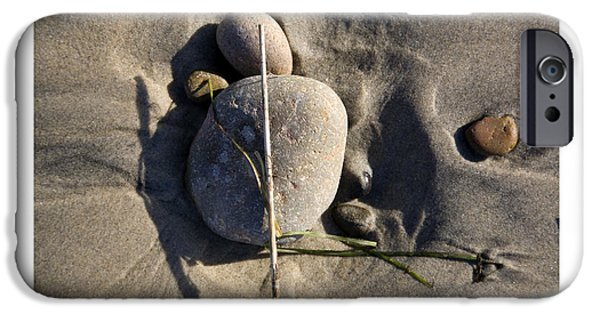 California Beach iPhone Cases - Balance iPhone Case by Peter Tellone