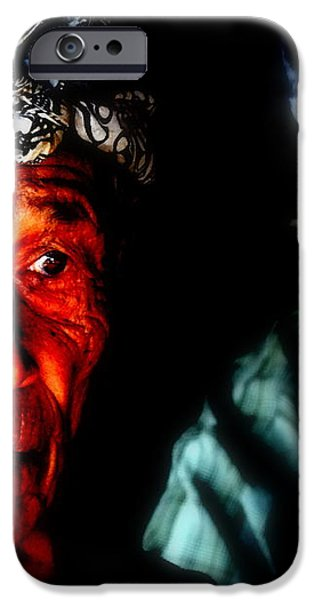 Balinese Old Man iPhone Case by Funkpix Photo Hunter