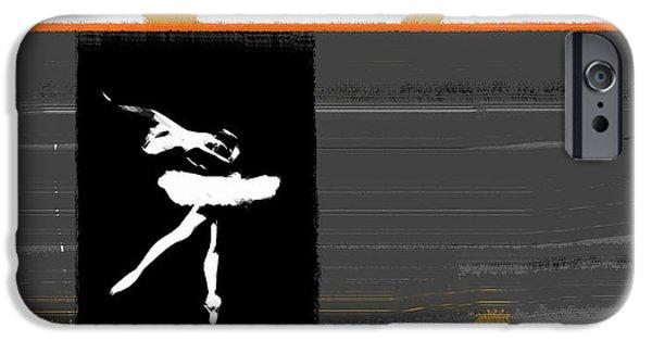 Theatre iPhone Cases - Ballerina  iPhone Case by Naxart Studio