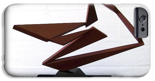 Abstract Movement Sculptures iPhone Cases - Ballet iPhone Case by John Neumann