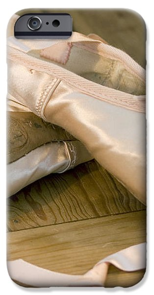 Ballet shoes iPhone Case by Jane Rix