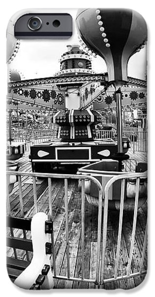 Balloon Ride at Seaside iPhone Case by John Rizzuto