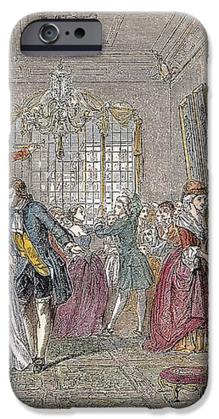 BALLROOM, 1760 iPhone Case by Granger