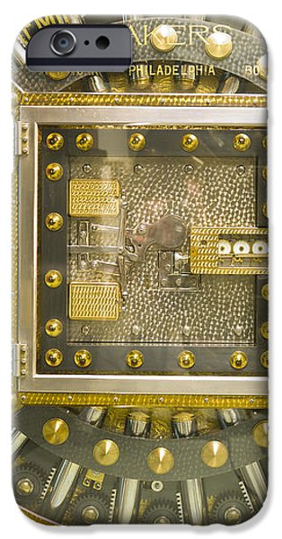 Bank Vault Door iPhone Case by Adam Crowley