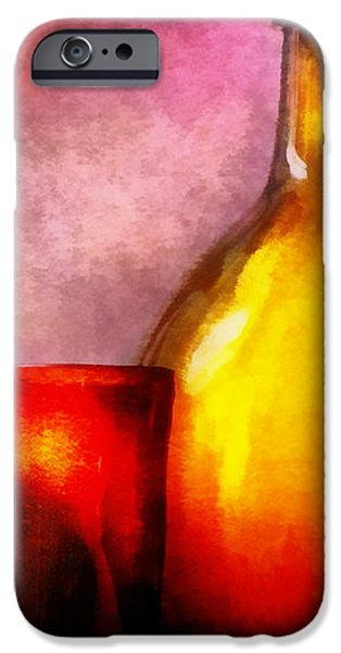 Bar - Bottles - A still life of bottles iPhone Case by Mike Savad