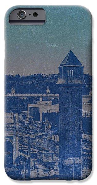 Barcelona iPhone Case by Naxart Studio