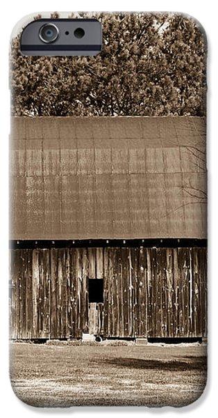Barn and Silo 1 iPhone Case by Douglas Barnett