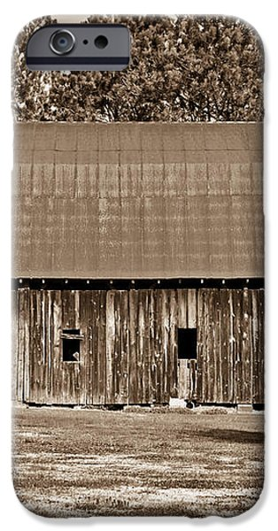 Barn and Silo 2 iPhone Case by Douglas Barnett