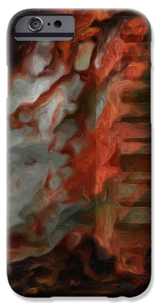 Barn Burning iPhone Case by Jack Zulli