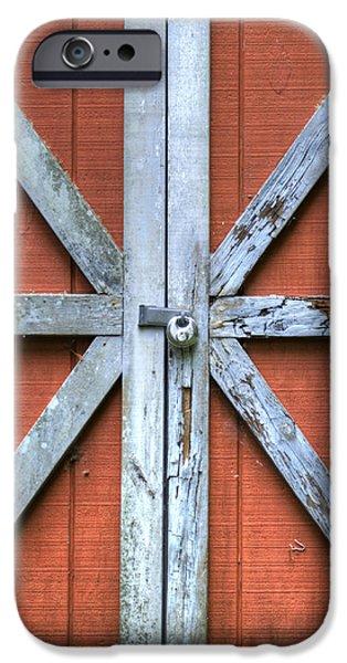 Barn Door 2 iPhone Case by Dustin K Ryan